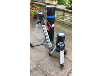 Sachtler Tripods Tall and short with Sachtler panorama head (7+7)