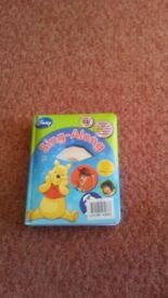 disney sing along cd and book