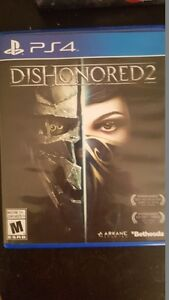 Dishonored 2 for PS4 Mint Condition $35