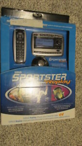 Sirius Sportster Replay Radio / Brand new in box