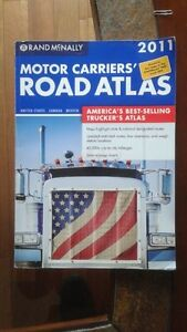 Rand McNally Deluxe Motor carriers ROAD ATLAS!