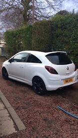 White limited edition corsa for sale.
