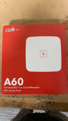 Open Mesh A60 Universal 802.11ac Cloud Managed WIFI Access Point Yelp Branded