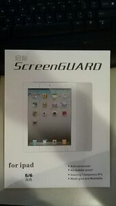 (NEW) For ipad air 1 or 2, screen protector / screen guard