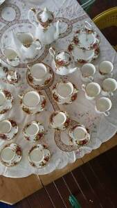 Vintage 1962 Royal Albert Tea and Coffee Set Old Country Roses Bundaberg South Bundaberg City Preview