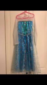 Frozen inspired Elsa dress 150cm