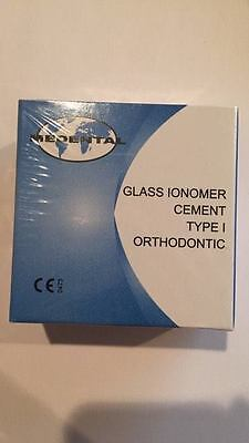 Dental Glass Ionomer Cement Type I Orthodontic 20g 15ml
