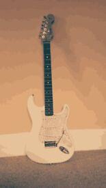 Fender Squire strat white