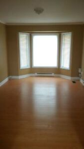 3 bedroom main floor apartment available July 1st