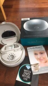 NuBrilliance professional microdermabrasion system at home