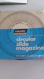Gnome Photographic Circular Slide Magazine