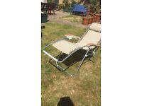 Garden Chair - Recliner - vgc