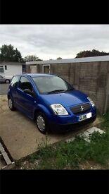 CITROEN C2 - NEW MOT.... IDEAL FIRST CAR ...CHEAP TO INSURE