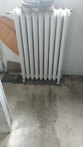 Free Delivery - Two Cast Iron Radiator Heaters