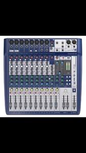 Soundcraft mixer with USB