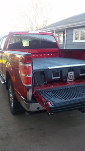 DECKED Truck Bed Storage System - Fits 2009-14 F150 6.5ft box