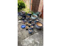GARDEN PLANT POTS FROM £1.50