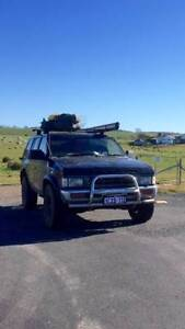 1990 Nissan Terrano 4WD + camping stuff (W.A. rego) Cairns Cairns City Preview
