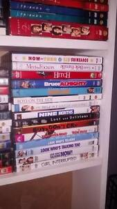 DVD's Friends Seasons 1,2,3,4 $25.00 all other DVD's $3.00 each