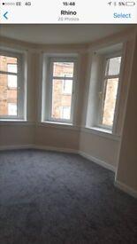 Re-furbished 4 bed flat in Port Glasgow