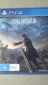 Final Fantasy 15 A King's Tale Edition (ps4) Fitzgibbon Brisbane North East Preview