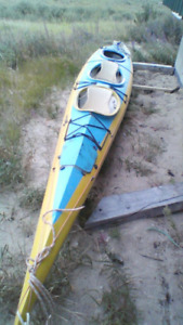 20' triple sea kayak