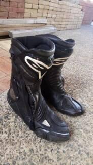 Alpinestars SMX - Plus Motorbike Road Boots US 9