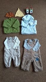 bundle of outfits for 3-6 months