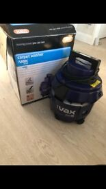 VAX Carpet and upholstery cleaner inc. pre treatment for stubborn stains. Almost new