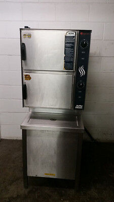 Groen Hyper Steam Hy-6e Double Stack Convection Oven Tested 208 Volt