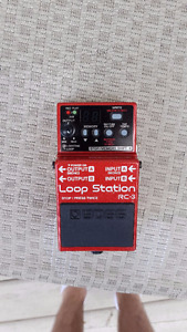 Boss RC-3 Loop Station with Footswitch