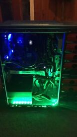 High spec gaming pc 4.1ghz/ gtx 950 with wide screen monitor. Swap or cash
