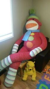 The worlds largest original Sock Monkey