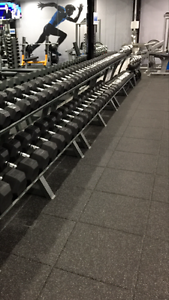 36 Square Metres of 75mm Thick Gym Flooring Buderim Maroochydore Area Preview