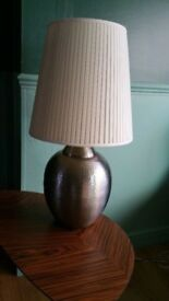 Beautiful sidetable lamp