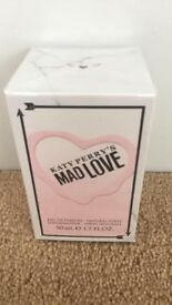 NEW SEALED KATY PERRY MAD LOVE PERFUME 50ml