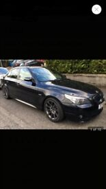 BMW 5 Series 4.0 540i M Sport 4dr Carbon Black, 116630 miles. MOT'd until Aug 2018