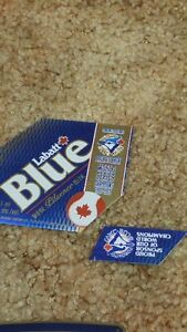 Labatt Beer labels blue jays knights JLC RCAF D-DAY London Ontario image 5