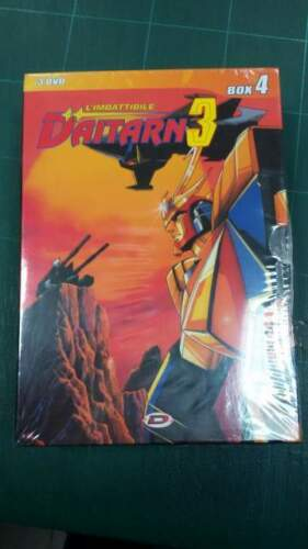 DVD Daitarrn 3 box con 3 dvd episodi 8/9/10