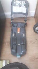 Britax babysafe car seat and isofix base