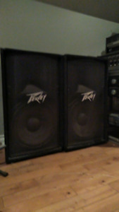 PV 115 400 watt 8 ohms speakers $250