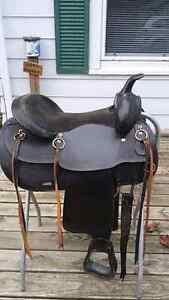 Wanted black Western saddle