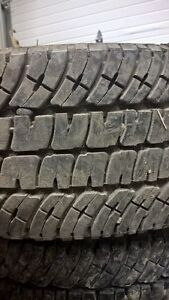 5 Tires - Michelin LTX A/T2 - 275/70 R18 M&S Prince George British Columbia image 4