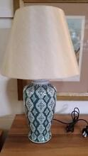 NEW Jade Green Patterned Ceramic Lamp - 2 Available Noosaville Noosa Area Preview