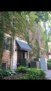 Lease Transfer -  3 1/2 Downtown close to Metro Guy-Concordia