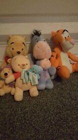 Winnie pooh teddy bundle