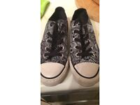 Converse Skull Trainers