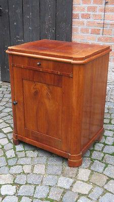 2/9/1116  Halbschrank Kommode Schränkchen Kirsche Biedermeier  um 1900