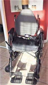 Foldable Wheelchair with Comfortable Cushion