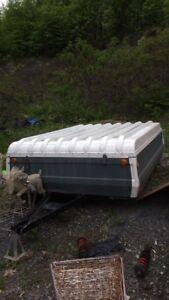 Trailor tent/ tente roulotte